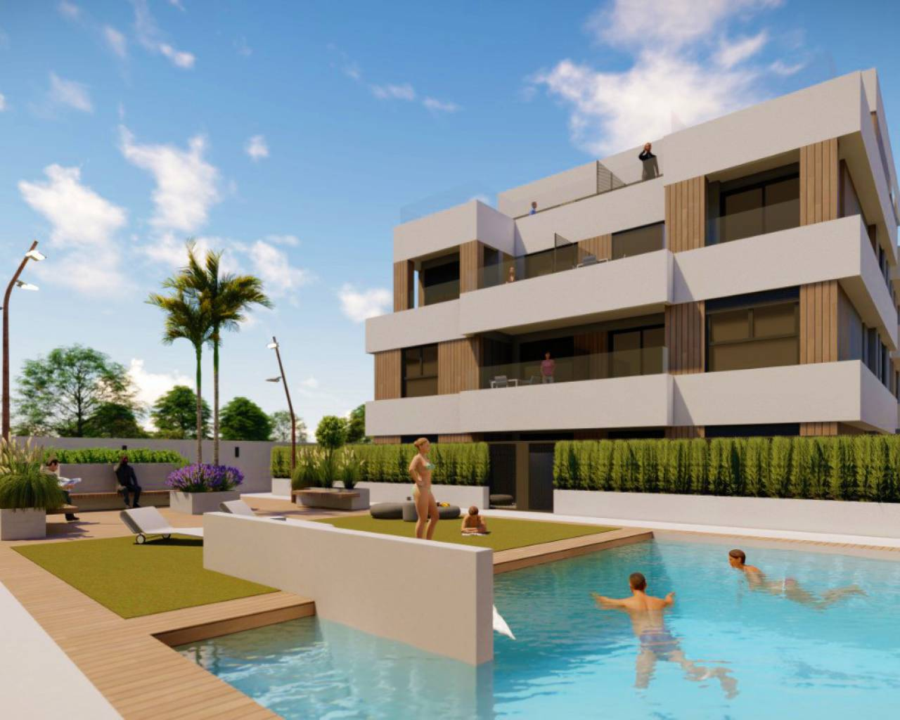 Apartment - New Build - San Javier - Santiago de la Ribera
