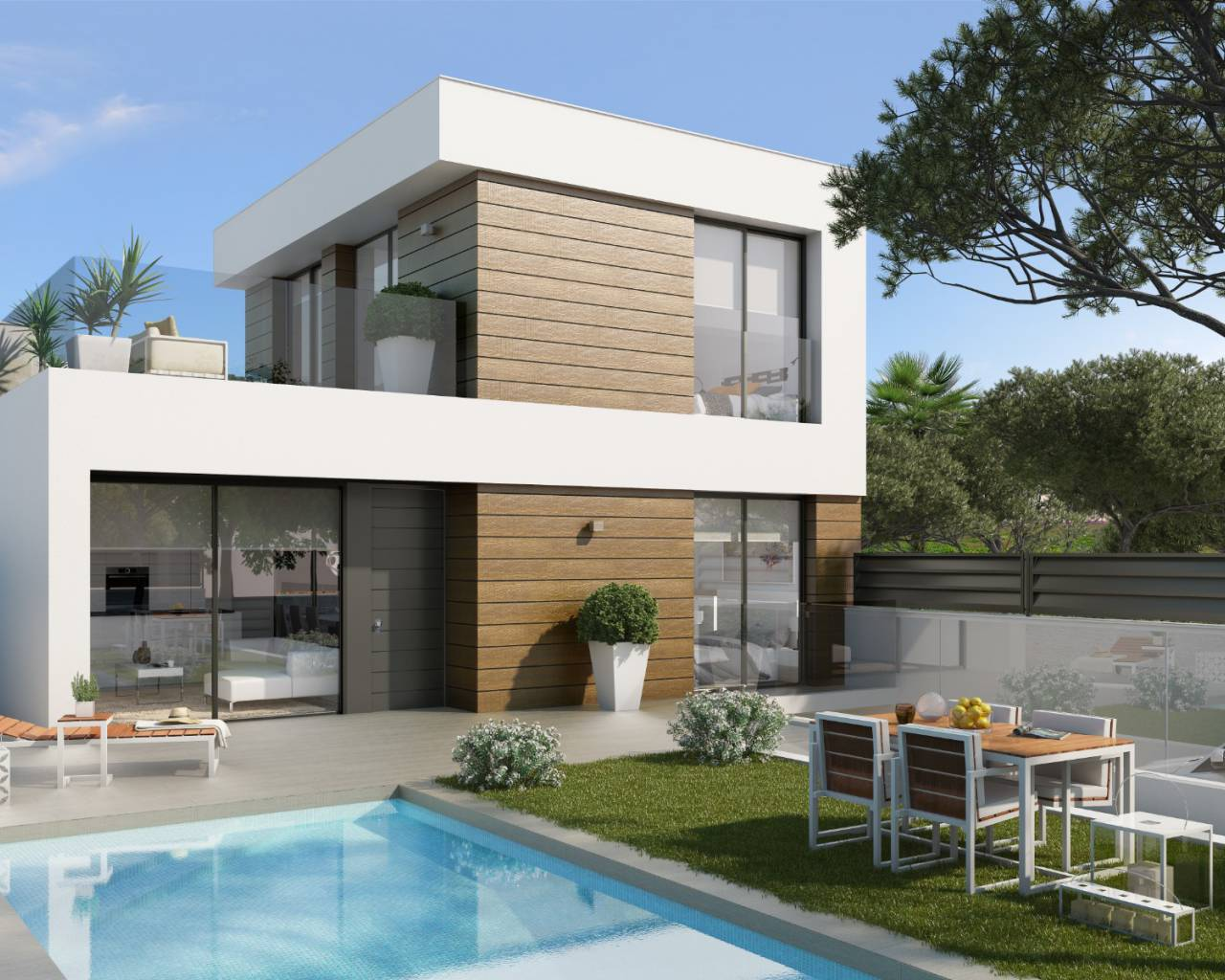 Detached Villa - New Build - El Campello - El Campello - Els Banyets Urbanisation