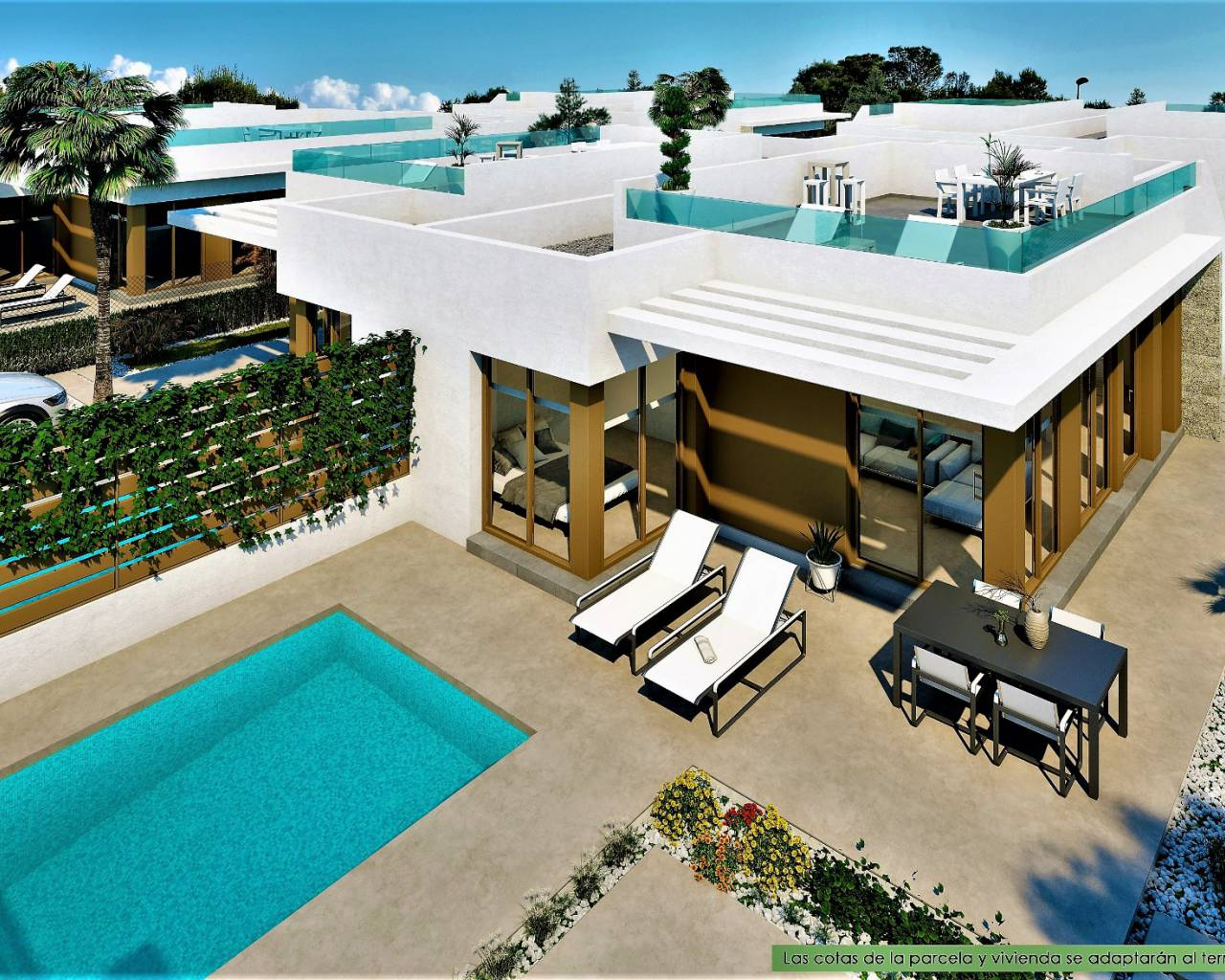 Semi Detached Villa - New Build - Los Montesinos - Vistabella Golf